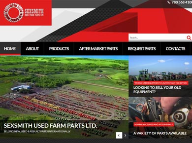 Sexsmith Used Farm Parts